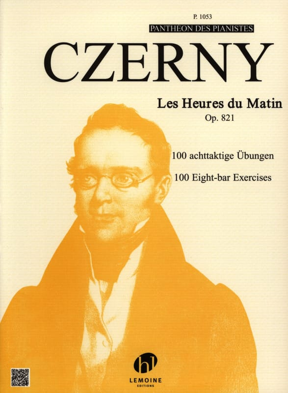 CZERNY - The Opus 821 Morning Hours - Partition - di-arezzo.com