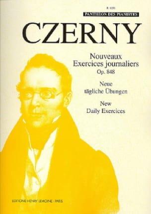 Nouveaux Exercices Journaliers Opus 848 - CZERNY - laflutedepan.com