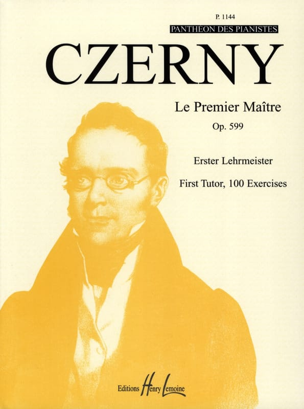 CZERNY - The First Master Opus 599 - Partition - di-arezzo.co.uk