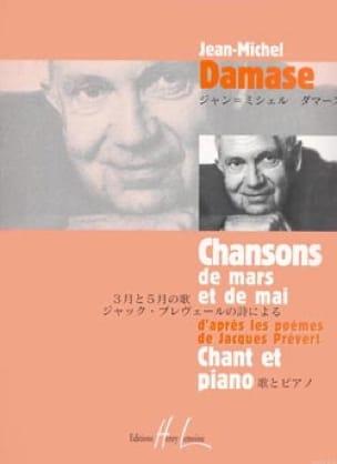Chansons de Mars et de Mai - Jean-Michel Damase - laflutedepan.com