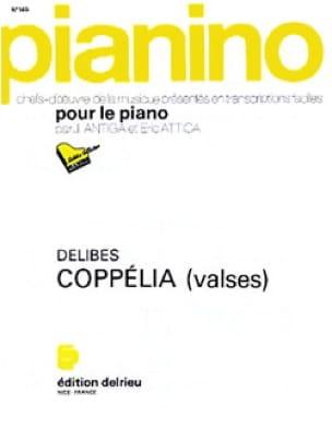 Coppélia: Valses. Pianino 145 - DELIBES - Partition - laflutedepan.com
