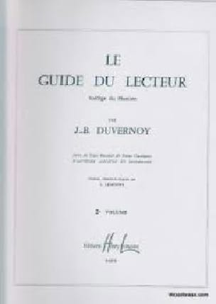 DUVERNOY - Volume 2 Reader's Guide - Partition - di-arezzo.com