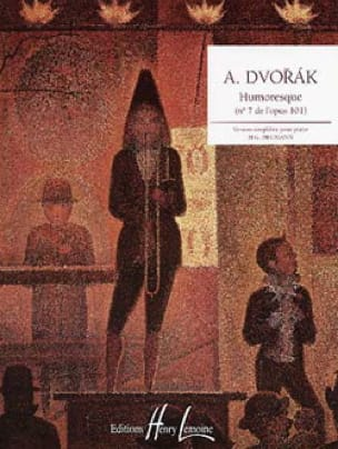 DVORAK - Humoresque Opus 101-7 - Partition - di-arezzo.co.uk