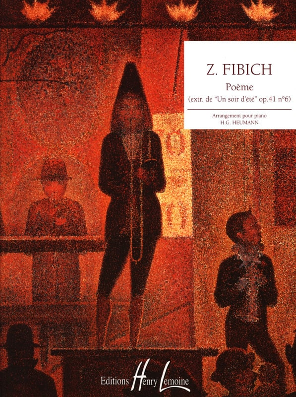 Poème Opus 41-6 - Zdenek Fibich - Partition - Piano - laflutedepan.com