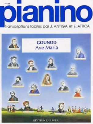 Ave Maria Pianino 113 - GOUNOD - Partition - Piano - laflutedepan.com