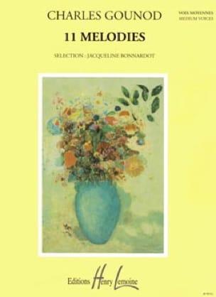 Charles Gounod - 11 Mélodies. Voix Moyenne - Partition - di-arezzo.fr