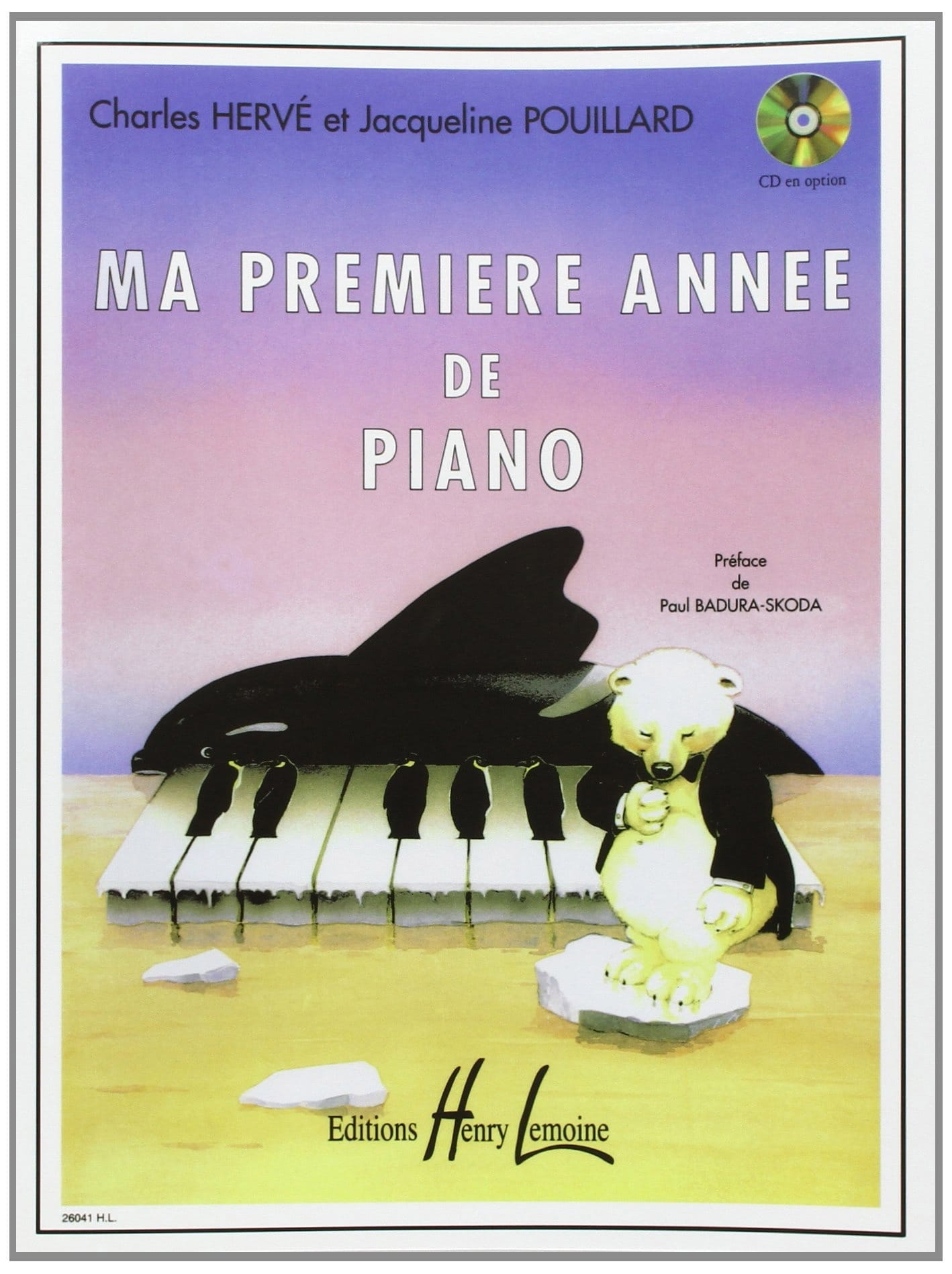 HERVÉ - POUILLARD - My first year of Piano - Partition - di-arezzo.co.uk
