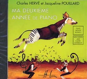 HERVÉ - POUILLARD - My 2nd year of Piano. CD - Partition - di-arezzo.com
