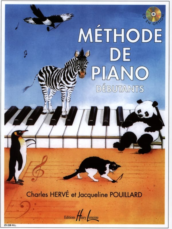 - Beginner Piano Method - HERVE POUILLARD - Partition - di-arezzo.com