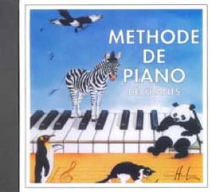 HERVÉ - POUILLARD - Beginners Piano Method - CD - Partition - di-arezzo.com