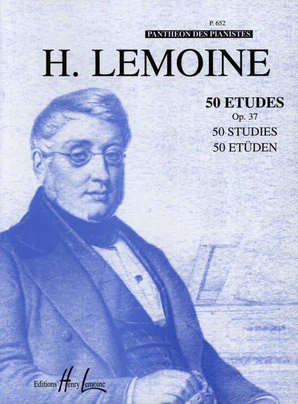 50 Etudes Faciles Opus 37 - Henry Lemoine - laflutedepan.com