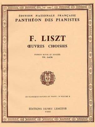 Classiques Favoris Volume 9B - LISZT - Partition - laflutedepan.com
