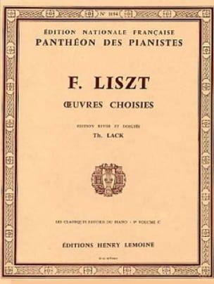 Classiques Favoris Volume 9C - LISZT - Partition - laflutedepan.com