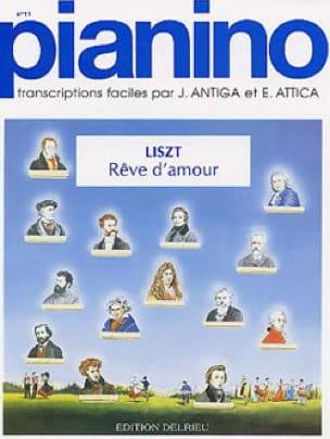 Rêve d'Amour - Pianino 11 - LISZT - Partition - laflutedepan.com