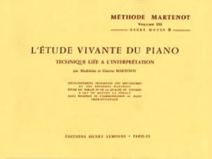 Etude Vivante du Piano - Volume 3B - laflutedepan.com