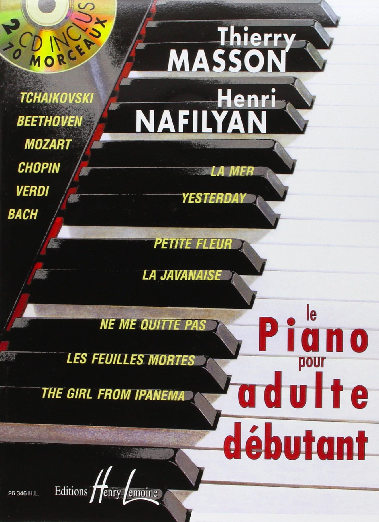 MASSON - NAFILYAN - Le Piano pour Adulte Débutant - Partition - di-arezzo.fr