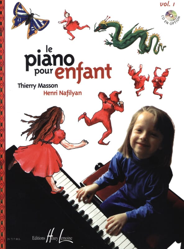 MASSON - NAFILYAN - Piano For Children Volume 1 - Partition - di-arezzo.co.uk