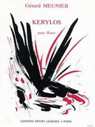 Gérard Meunier - Kerylos - Partition - di-arezzo.co.uk