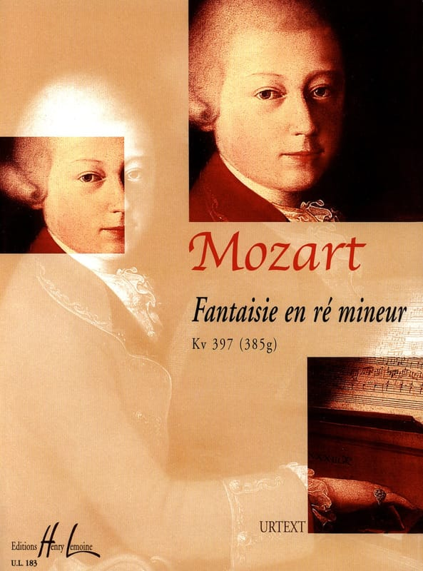 MOZART - Fancy D Minor K 397 - Partition - di-arezzo.co.uk