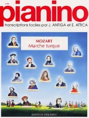 Marche Turque Pianino 14 - MOZART - Partition - laflutedepan.com