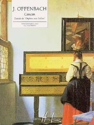Cancan D' Orphée Aux Enfers - Jacques Offenbach - laflutedepan.com