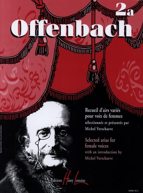 Jacques Offenbach - Collection Of Various Aids Volume 2a - Partition - di-arezzo.com