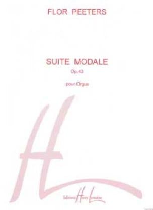 Flor Peeters - Suite Modale Opus 43 - Partition - di-arezzo.fr