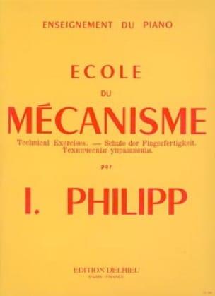 Ecole Du Mécanisme Opus 25 - Isodore Philipp - laflutedepan.com