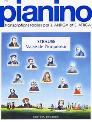 Valse de l'empereur - Pianino 52 - J. Strauss - laflutedepan.com