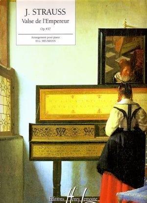 Valse de L'empereur Opus 437 - Johann fils Strauss - laflutedepan.com