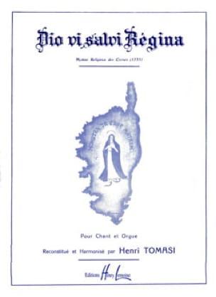 Henri Tomasi - Dio Vi Salvi Regina - Partition - di-arezzo.co.uk