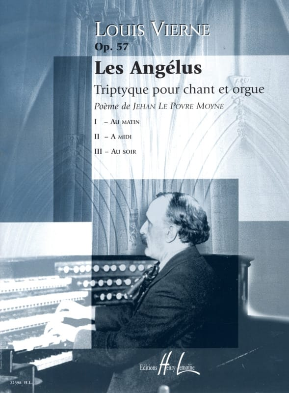 Louis Vierne - The Angelus Opus 57 - Partition - di-arezzo.co.uk
