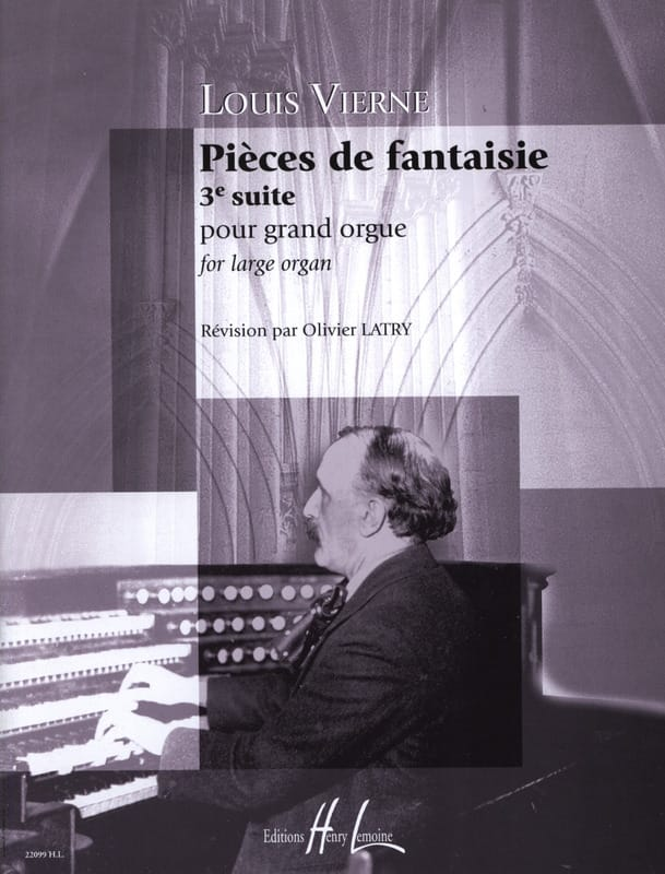 Louis Vierne - Fantasy Pieces Opus 54 - Partition - di-arezzo.co.uk