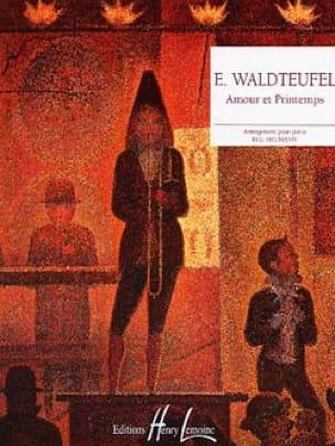 Amour Et Printemps - Emile Waldteufel - Partition - laflutedepan.com