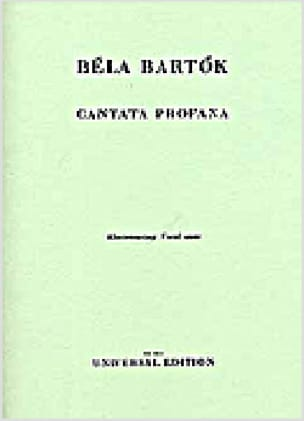 BARTOK - Cantata Profana - Partition - di-arezzo.co.uk