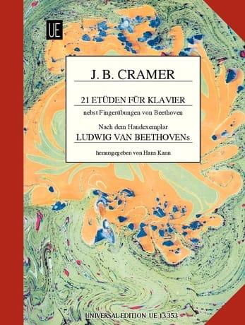 21 Etüden für Klavier - Jean-Baptiste Cramer - laflutedepan.com