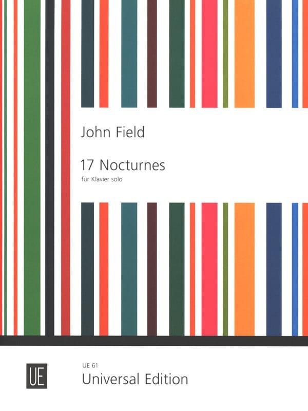 17 Nocturnes - John Field - Partition - Piano - laflutedepan.com