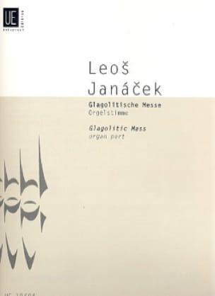 Leos Janacek - Glagolitische Messe. Partie d'Orgue - Partition - di-arezzo.fr