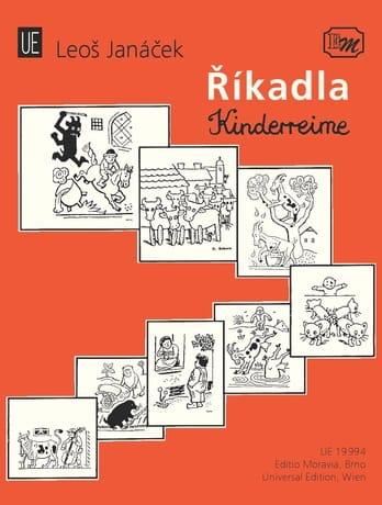 Leos Janacek - Rikadla - Kinderreime - Partition - di-arezzo.fr