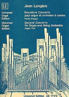 2ème Concerto. Partie soliste - Jean Langlais - laflutedepan.com