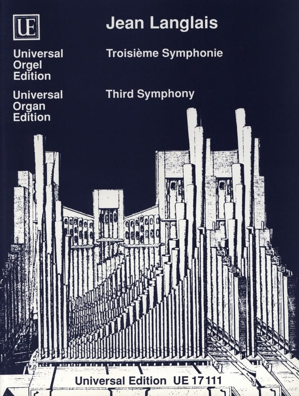 3ème Symphonie - Jean Langlais - Partition - Orgue - laflutedepan.com