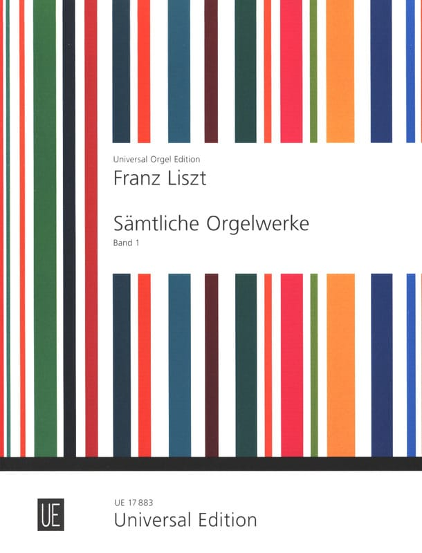 Franz Liszt - Organ Work Volume 1 - Partition - di-arezzo.com