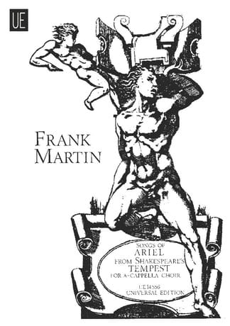 Frank Martin - Songs of Ariel - Partition - di-arezzo.co.uk