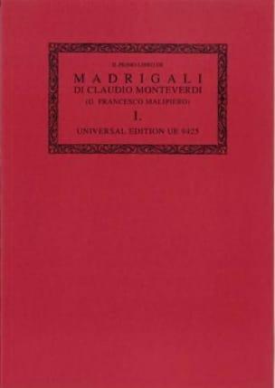 Il Primo Libro de Madrigali A 5 Voci 1587. Oc1 - laflutedepan.com