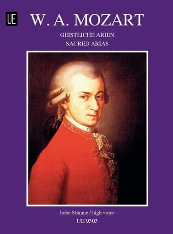 MOZART - Geistliche Arien. - Partition - di-arezzo.co.uk