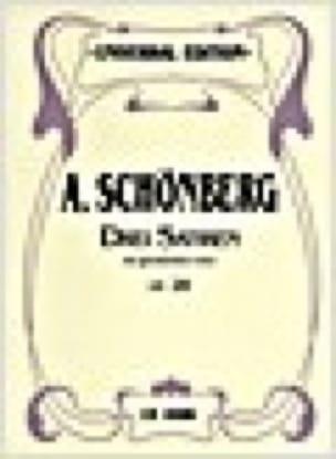 3 Satiren Op. 28 - Arnold Schoenberg - Partition - laflutedepan.com