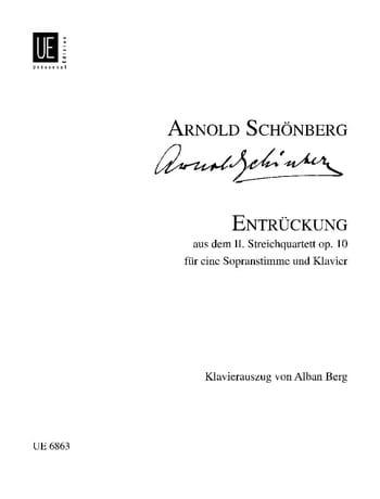 Entrückung Opus 10 - SCHOENBERG - Partition - laflutedepan.com