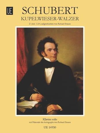 SCHUBERT - Kupelwieserwalzer D Anh 1-14 - Partition - di-arezzo.co.uk