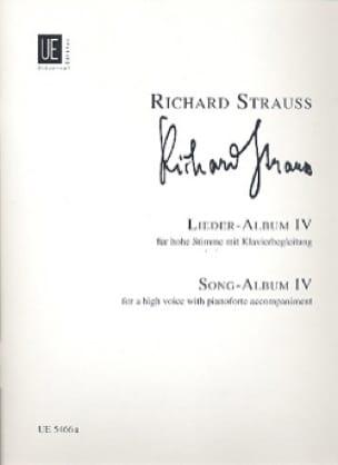 Lieder Album Volume 4. Voix Haute - Richard Strauss - laflutedepan.com