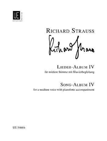 Lieder Album Volume 4. Voix Moyenne - laflutedepan.com